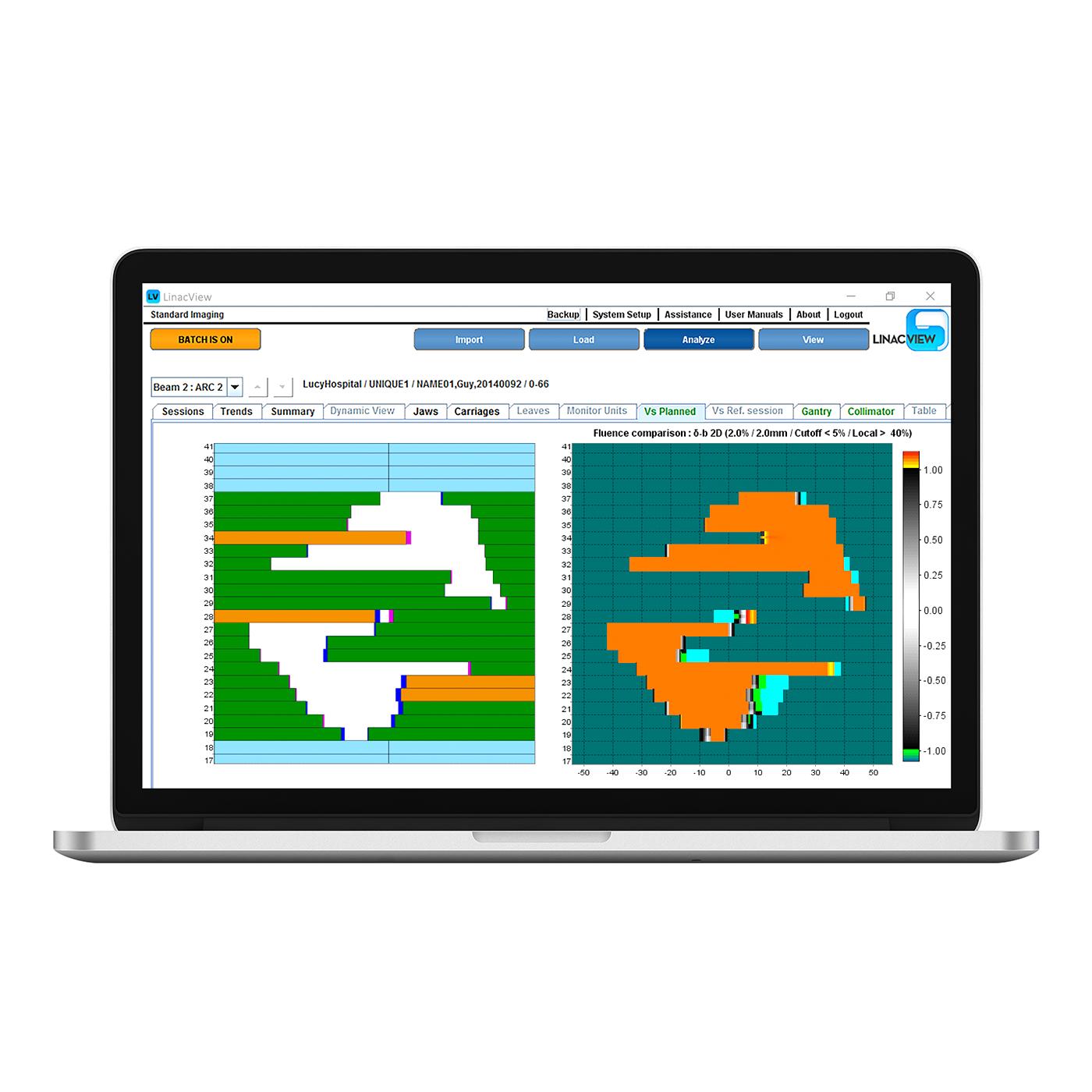 Linacview laptop 1400